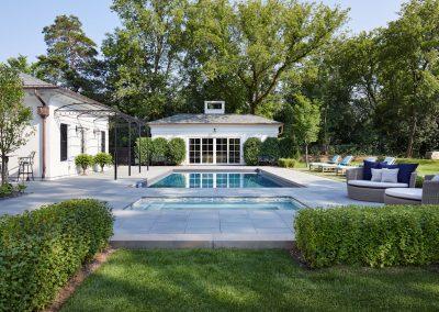 Boulevard Blue pool by Twist Interior Design