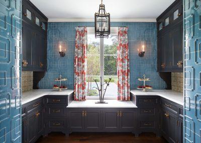 Boulevard Blue kitchen by Twist Interior Design