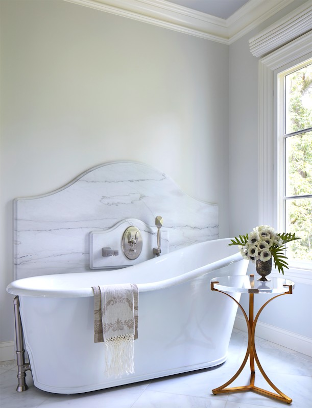 Interior design for Boulevard Blue bathtub
