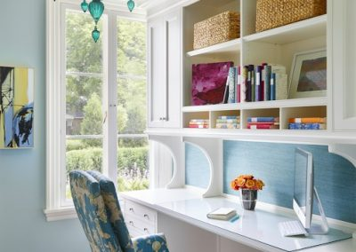 Interior design for Boulevard Blue craft room
