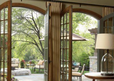 Twist Interior Design - Easy Elegance backyard view