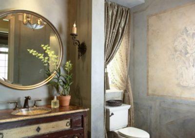 Twist Interior Design - Easy Elegance powder room