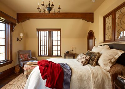 interior design for English Estate guest bedroom