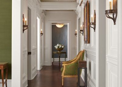 interior design for English Estate hallway