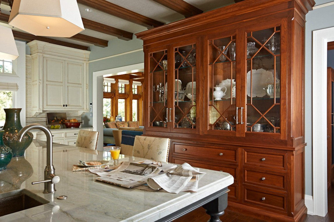 interior design for English Estate kitchen