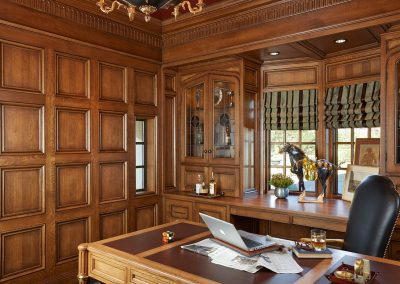 interior design for English Estate office