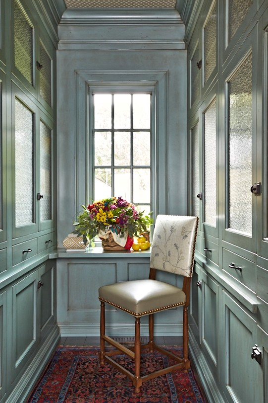 interior design for English Estate pantry