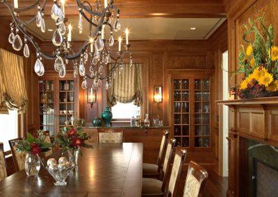 Twist Interior Design - Hampton's Spirit dining room