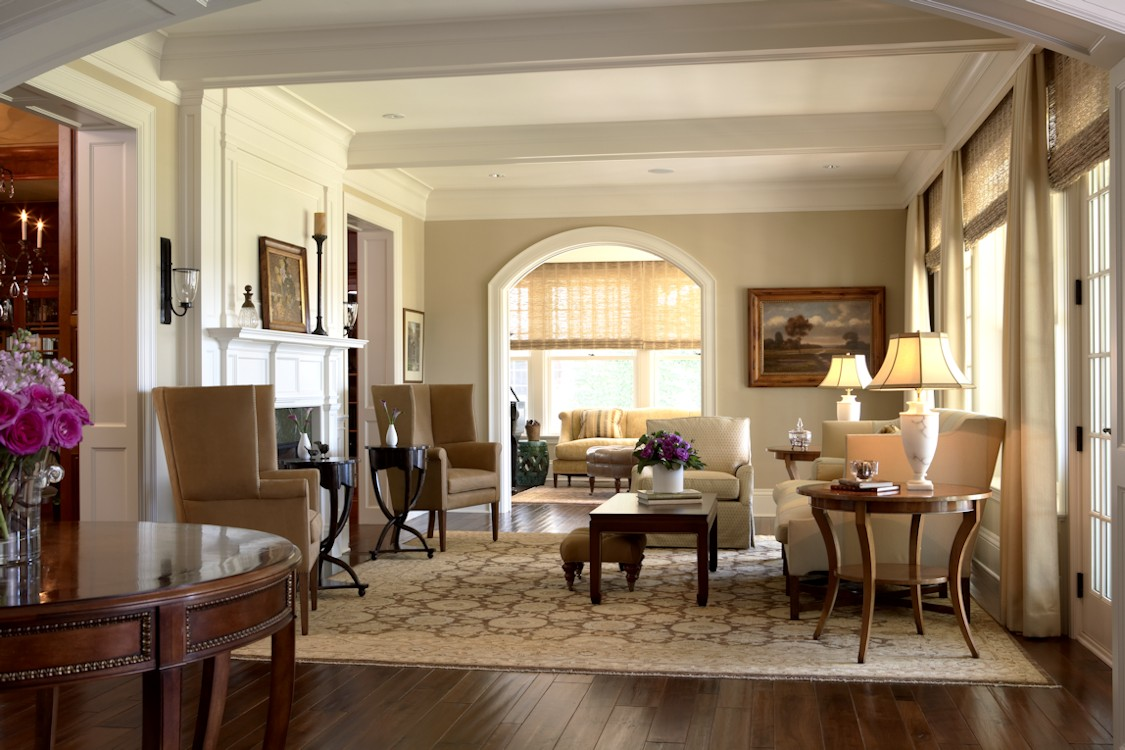 Twist Interior Design - Hampton's Spirit living room