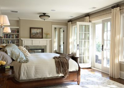 Twist Interior Design - Hampton's Spirit master bedroom