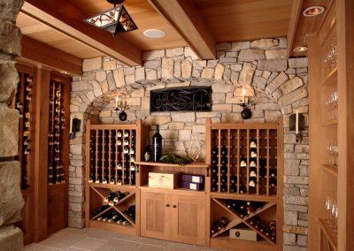 Twist Interior Design - Hampton's Spirit wine cellar