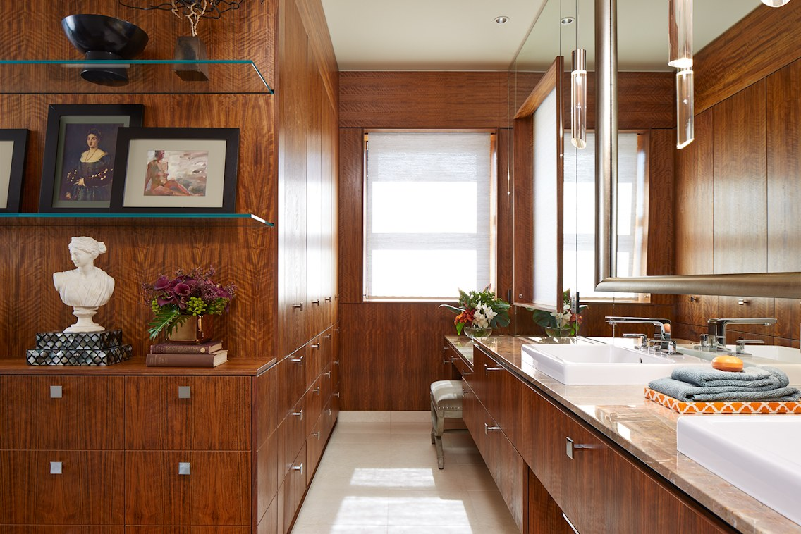 Twist Interior Design - Modern Debut master bath