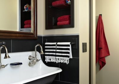 Twist Interior Design - Vintage Garage washroom