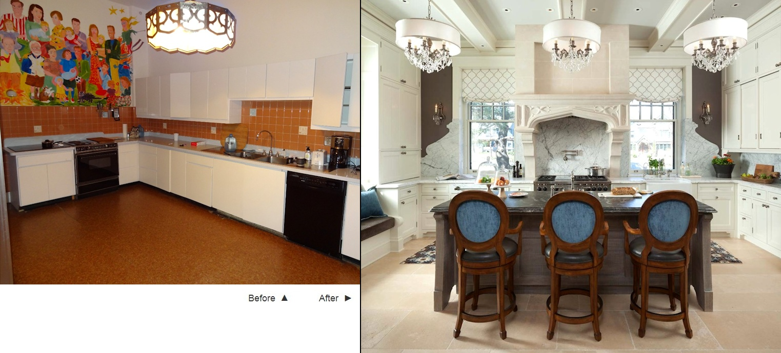 Twist Interior Design - ACT 1 before and after