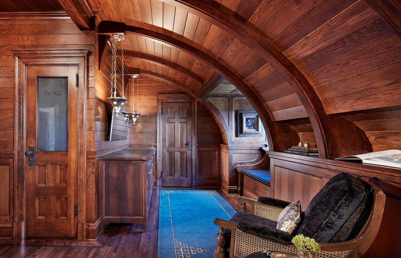 upstairs hallway in ACT 2 by Twist Interior Design