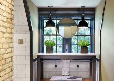 powder room in ACT 2 by Twist Interior Design