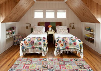 Lakeside Retreat guest bedroom by Twist Interior Design