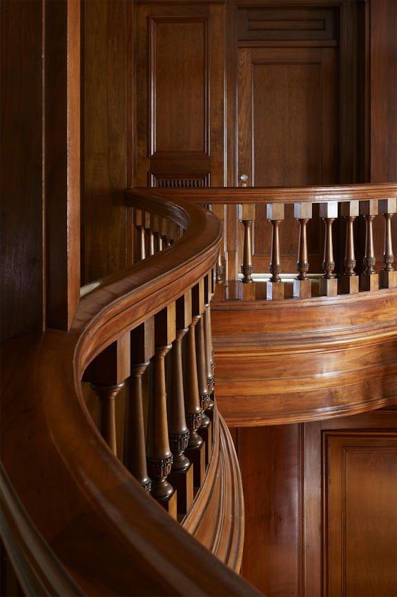 Lake of the Isles stairway detail